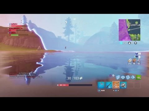 Fortnite squad w/ the typical type and unknown alone gamer  //Young God\\