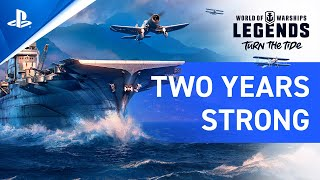 World of Warships: Legends – Two Years Strong Update 3.2 | PS4