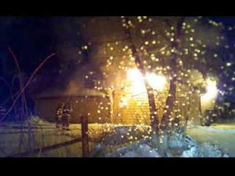 Newark Ohio Fire 65 W Postal Garage Fire 2-8-14 Fire Command