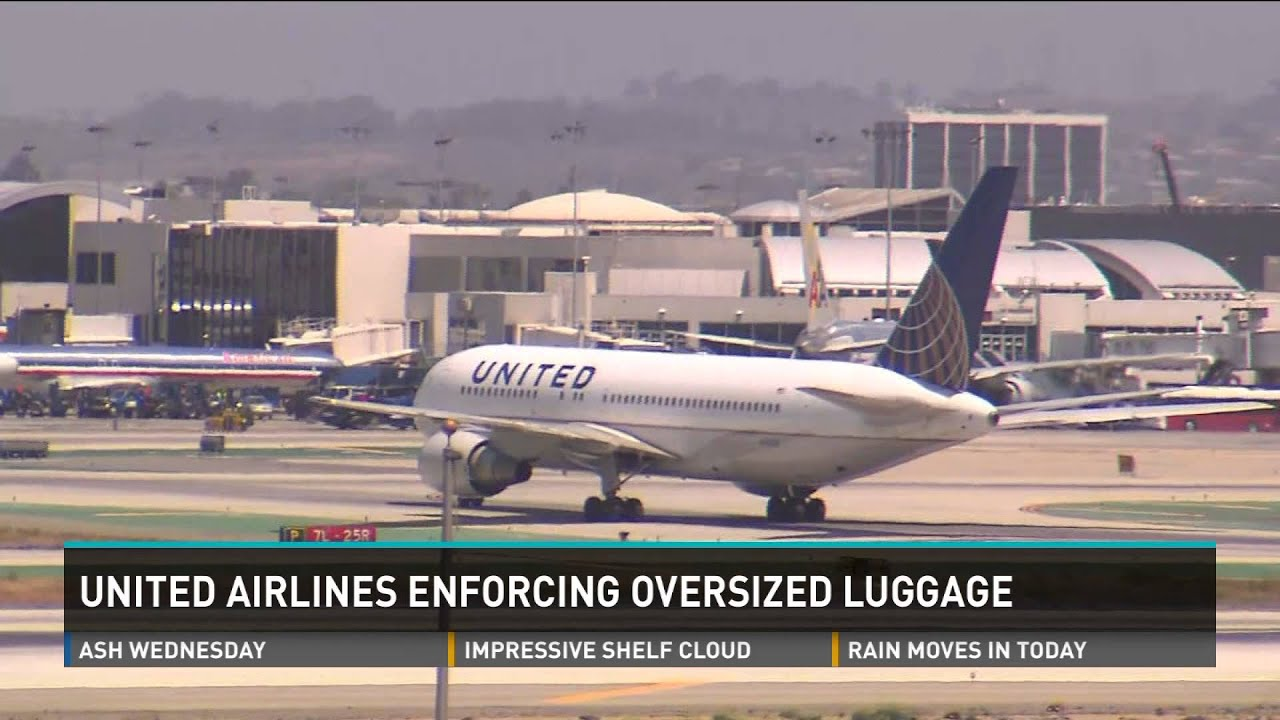 United Airlines Checked Baggage Allowance