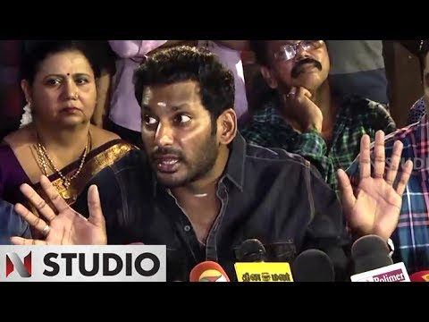 We are ready give back 28.0 % gst,If...? Actor Vishal request to central government | Nadigar Sangam