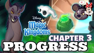 TOWER CHALLENGE CHAPTER 3 PROGRESS! LION KING Disney Magic Kingdoms | Gameplay Walkthrough Ep.490