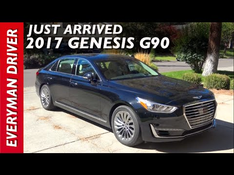 Just Arrived 2017 Genesis G90 on Everyman Driver