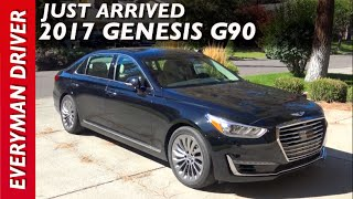 Just Arrived 2017 Genesis G90 on Everyman Driver