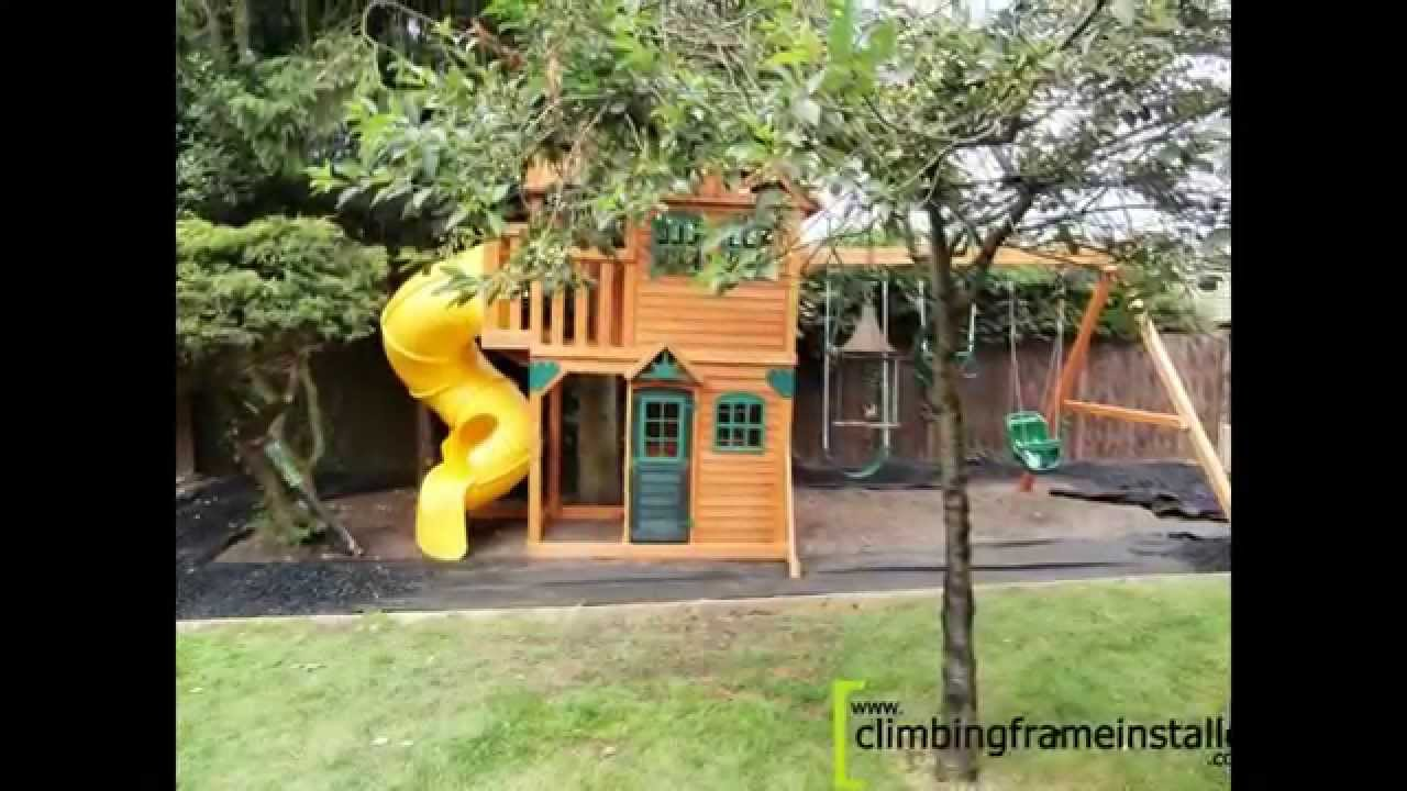 Costco cedar summit climbing frame install youtube costco cedar summit climbing frame install publicscrutiny Image collections