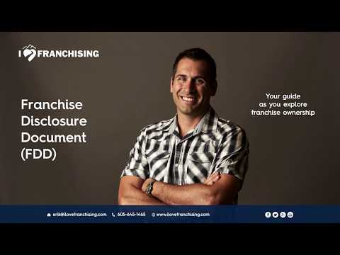 The Franchise Disclosure Document - Overview (1 of 3)