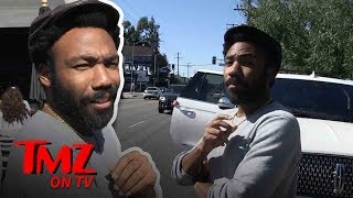 Donald Glover Wants To Officiate Cardi B And Offset's Wedding! | TMZ TV