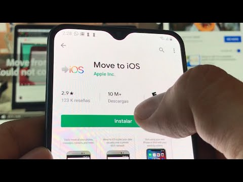 Trasladar A IOS Datos De Android A IOS IPhone 11 Error Imposible Comunicarse Con El Dispositivo