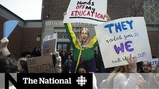 Thousands of Ontario students protest Doug Ford's changes to education