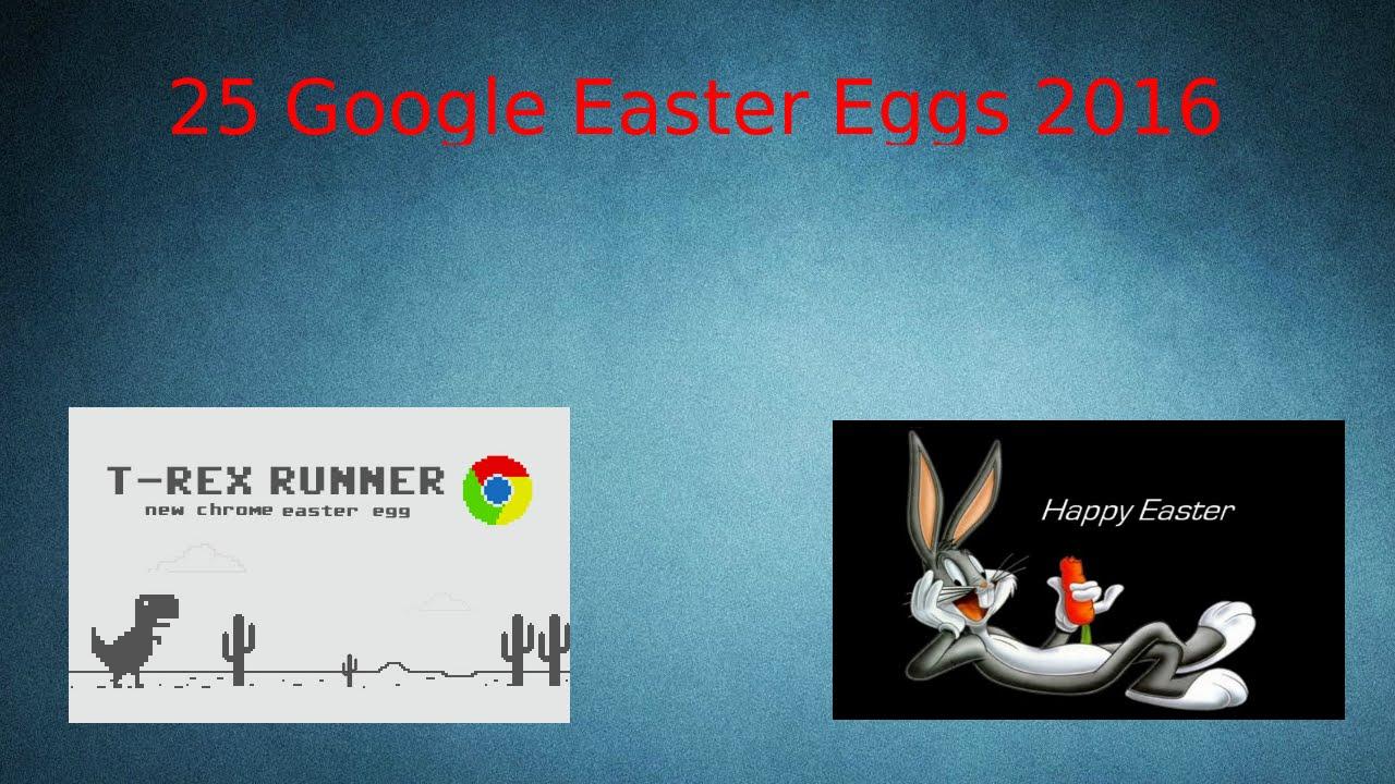 Easter Eggs Do Google 2016