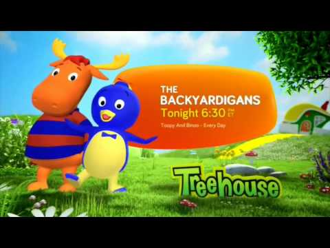 Treehouse HD Canada - Continuity June 2015 [King Of TV Sat]