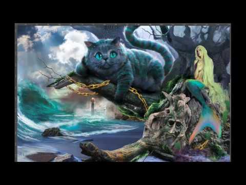 У лукоморья дуб зелёный (Демонстрация слоев digital art) Винилография