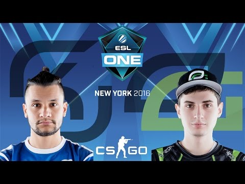 ESL One New York 2016 - SK Gaming vs. OpTic Gaming (Train) - Narração PT-BR