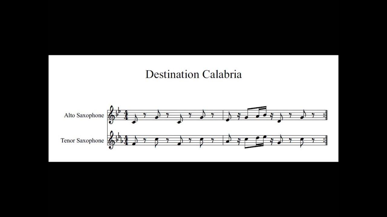 Destinations Saxophone Alto
