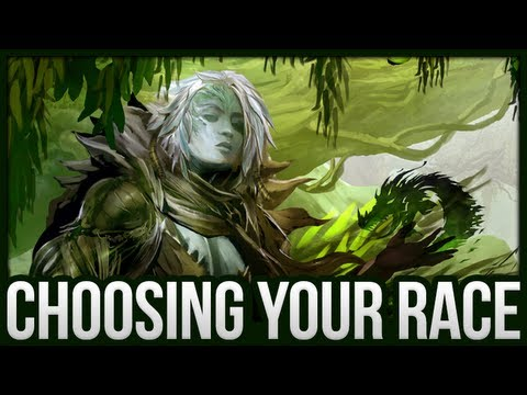 Guild Wars 2 - Choosing Your Race (Sylvari)