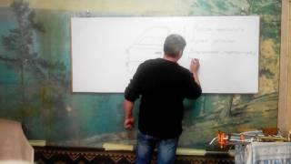 Обучение удалению вмятин без покраски в Днепре (Точки напряжения).