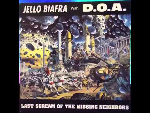 Jello Biafra with DOA - attack of the peace keepers