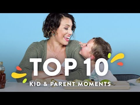 Top 10 Kid & Parent Moments | HiHo Kids