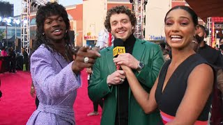 Watch Jack Harlow CRASH Lil Nas X's VMAs Interview (Exclusive)