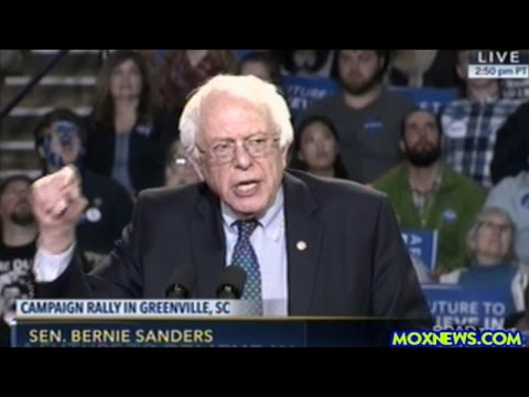 """""""We Are Living Under A Broken Criminal Justice System!"""" Bernie Sanders In Greenville South Carolins"""