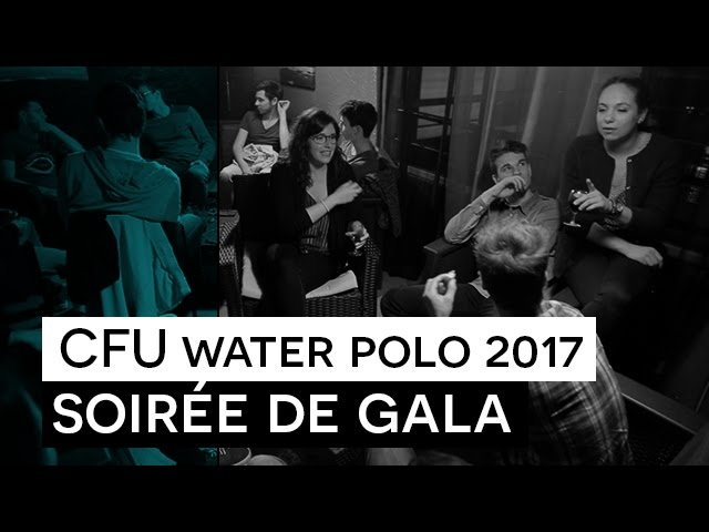 CFU Water Polo 2017 - Soirée de Gala