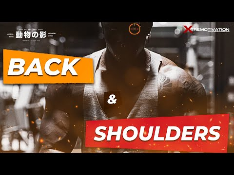 BACK &  SHOULDERS WORKOUT | BODYBUILDING / MUSCULATION - WEIGHT TRAINING