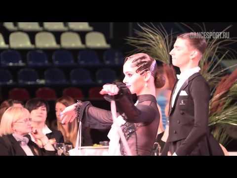 Mikhail Avdeev - Olga Naumova RUS Viennese Waltz Latin Kvartal Cup 2019