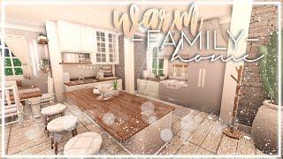 - Warm Family Home - Bloxburg Speedbuild - Nixilia