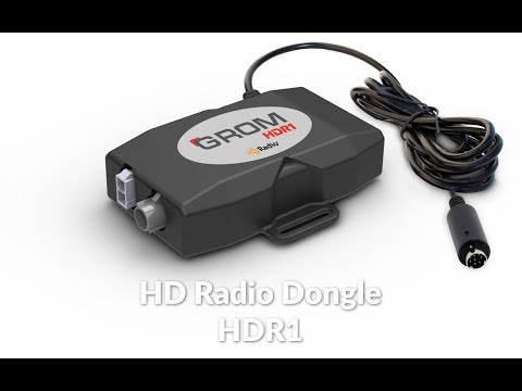 GROM HD Radio® FM Tuner demo in Lexus IS350