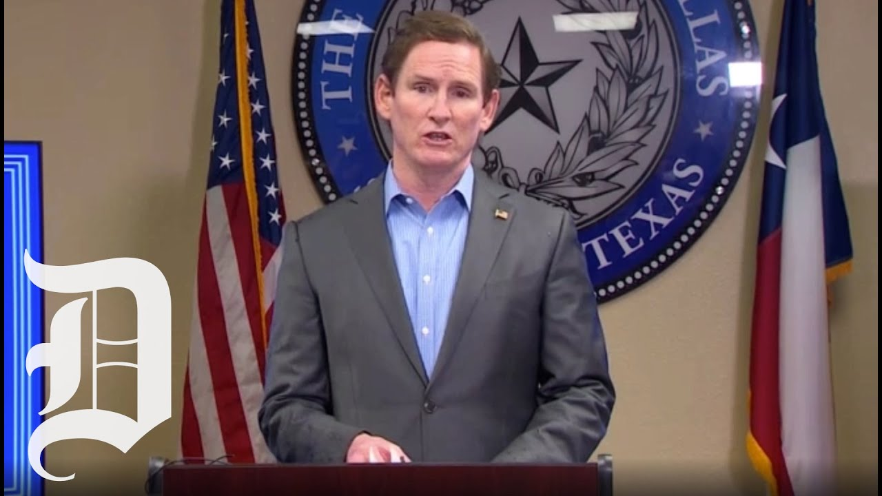 Dallas County Judge Clay Jenkins gives coronavirus response update as governor issues mask order