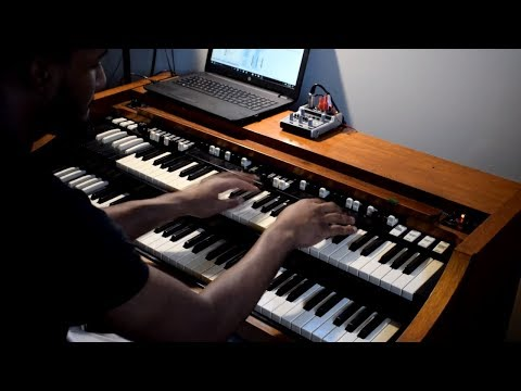 Can a Keyboard Sound Like a Actual Hammond Organ??  Using the Neo Ventilator on a Motif!