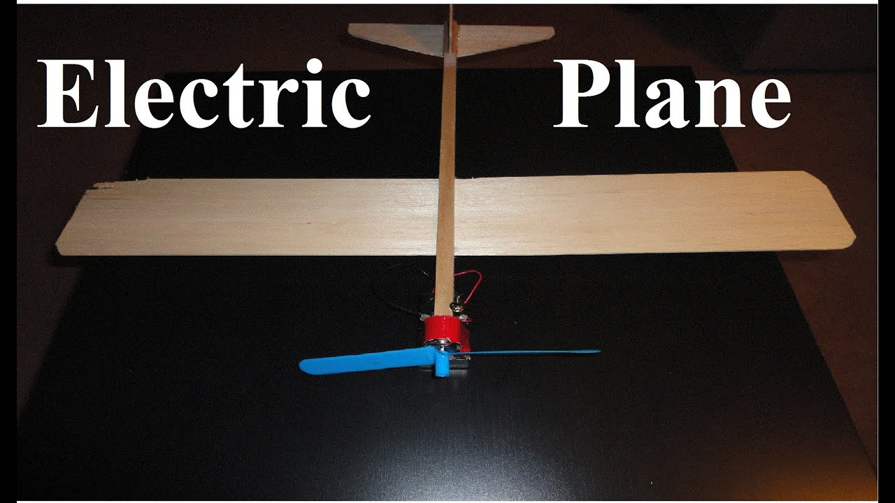 Glider Plane How To Build A Battery Powered Plane (balsa Wood Airplane