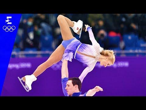 Figure Skating   Pair Skating Free Skating Highlights   Pyeongchang 2018   Eurosport