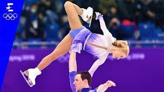 Figure Skating | Pair Skating Free Skating Highlights | Pyeongchang 2018 | Eurosport