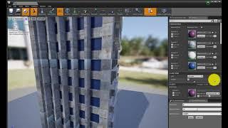 Unreal Engine 4 импорт настройка света быстрый рендеринг пролета камеры