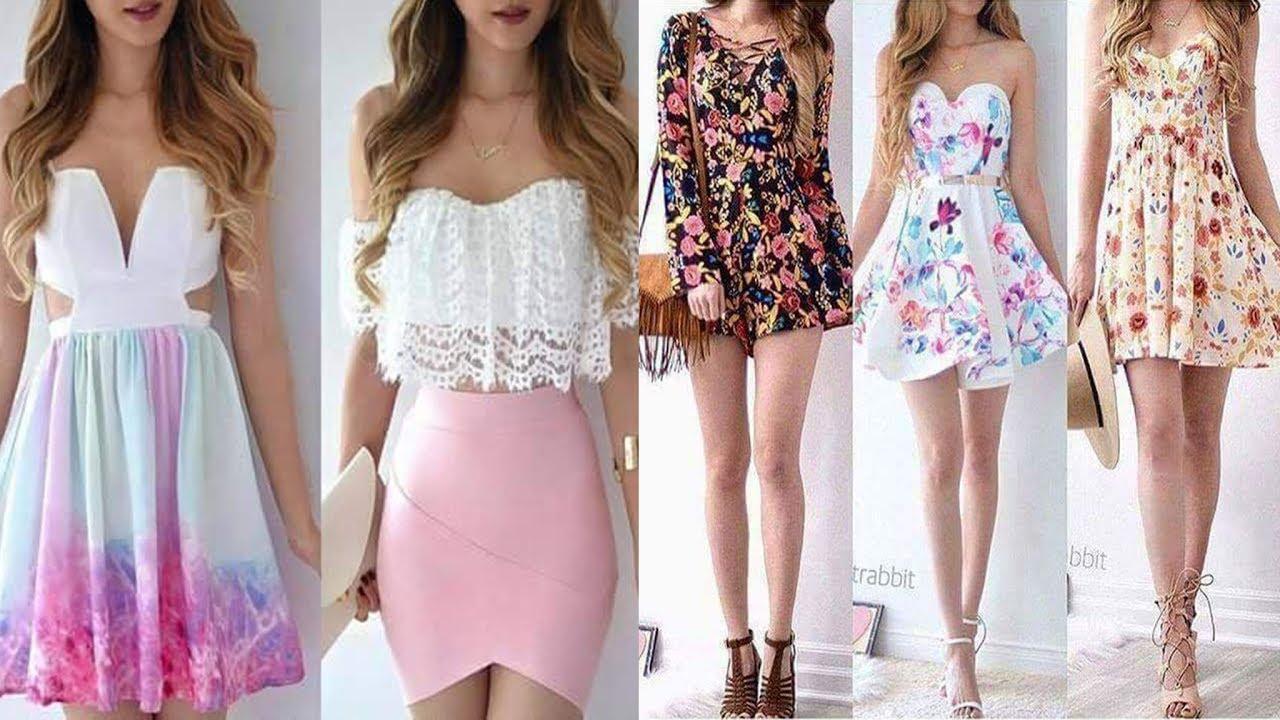 Ropa De Moda Para Chicas Verano 2017 Juveniles