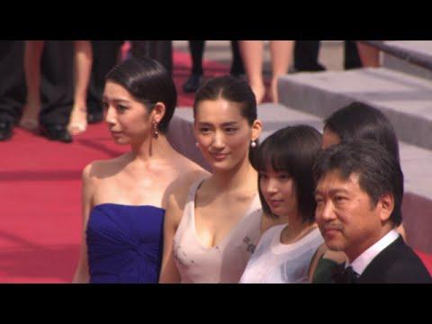 映画『海街diary』カンヌ国際映画祭レッドカーペット(その3)
