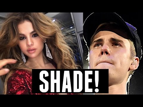 Let's Count How Many Times Selena Gomez Shaded Justin Bieber