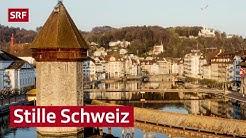 Eindrucksvolle Leere in der Schweiz während Corona