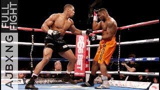 Full Fight | AJ Vs Michael Sprott TKO