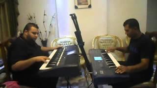 على رمش عيونها عزف باسل سيف ومحمد فؤاد