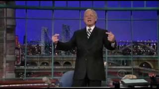 Letterman Introduces \