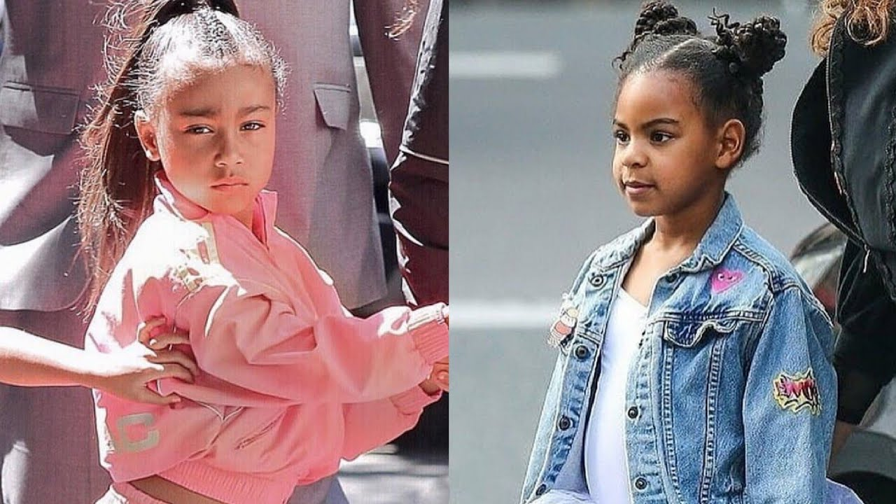 kim kardashian s daughter vs beyonce s daughter 2020
