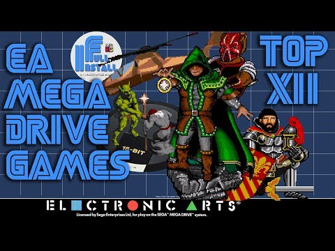 Top 12 EA published Mega Drive games