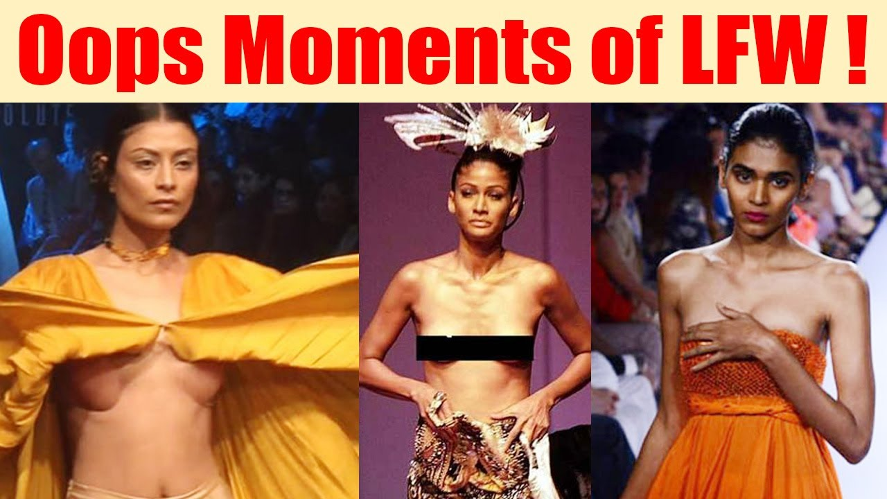 Lakme Fashion Week 2018Top Oops Moments From Lfw -2168