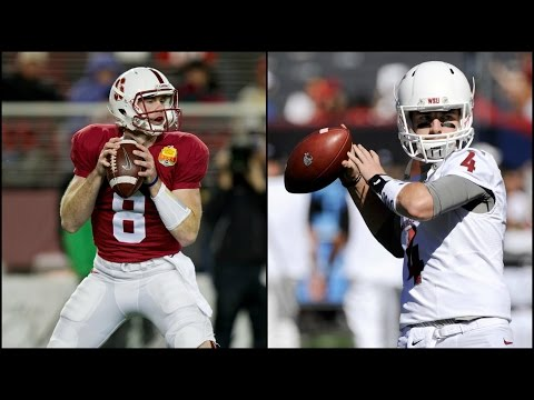Kevin Hogan vs. Luke Falk: Who Do You Buy? | CampusInsiders