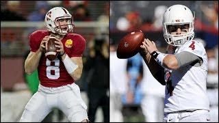 Kevin Hogan vs. Luke Falk: Who Do You Buy? | CampusInsiders