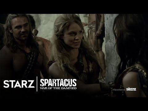 Spartacus: War of the Damned   A Closer Look At Gannicus   STARZ