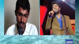 Young Pakistani boy singing in Arijit Singh voice