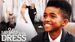 Bride Brings Her Son to Her Wedding Dress Fitting   Say Yes To The Dress UK